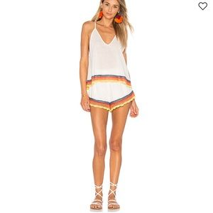 Free People white Fire SET size XS
